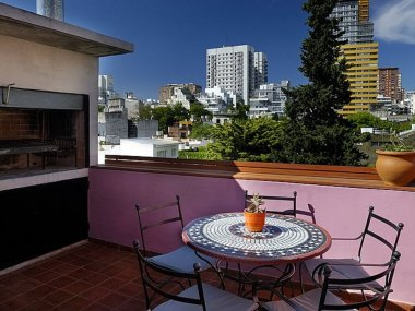 Rent  Temporary Apartment 4 Rooms in Palermo Soho, Penthouse Armenia and Costa Rica - Palermo