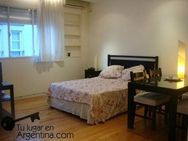 Rent  Temporary Apartment 1 Room in Recoleta, Ayacucho and Alvear