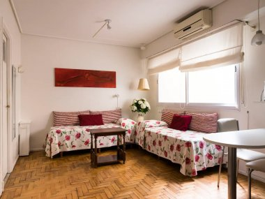 Rent  Temporary Apartment 1 Room in Recoleta, Vicente Lopez and Rodriguez Peña