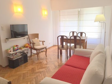 Rent  Temporary Apartment 3 Rooms in Recoleta, French and Austria