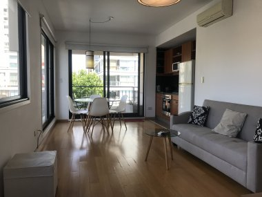 Rent  Temporary Apartment 1 Room in Palermo, Torre Cardon - Thames and Charcas